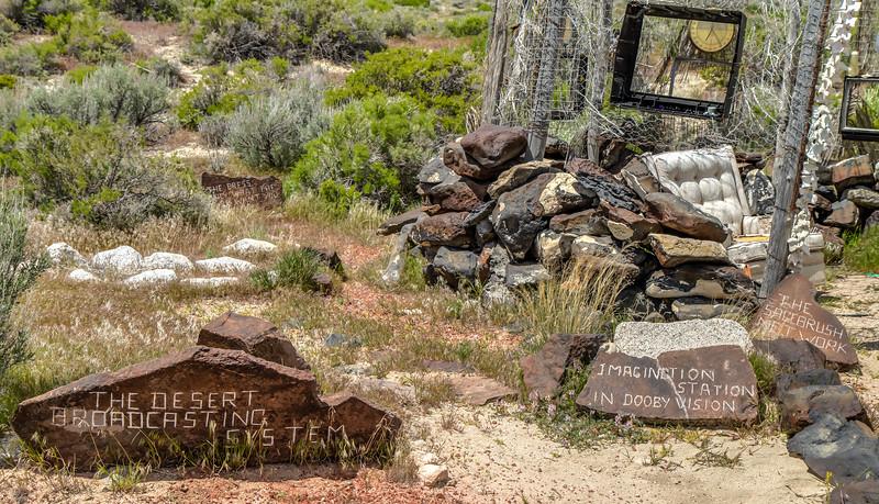 "099 Desert Broadcast Imagination Station by DeWayne ""Doobie"" Williams, Guru Road, Nevada"