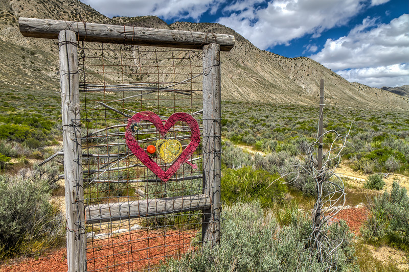"092 Black Rock Hitching Post Wedding Chapel by DeWayne ""Doobie"" Williams, Guru Road, Nevada"