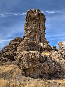 060 Limestone tufa towers, Winnemucca Lake