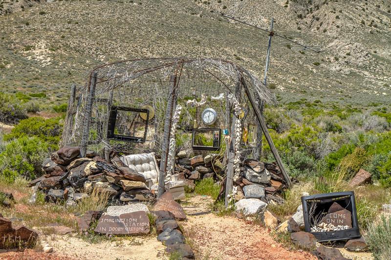 "098 Desert Broadcast Imagination Station by DeWayne ""Doobie"" Williams, Guru Road, Nevada"
