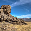063 Limestone tufa towers, Winnemucca Lake