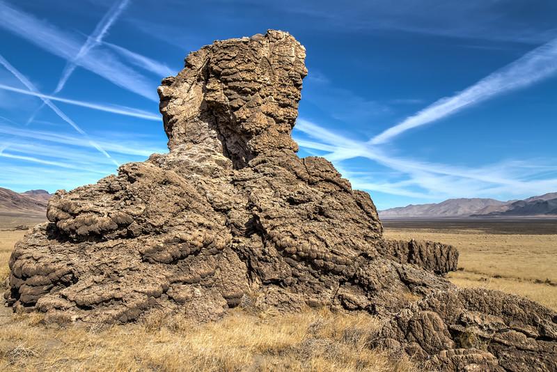 061 Limestone tufa towers, Winnemucca Lake