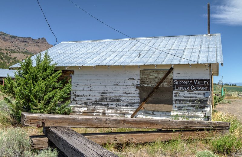 119 Surprise Valley Lumber Company, Cedarville, California