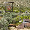 "093 Black Rock Hitching Post Wedding Chapel by DeWayne ""Doobie"" Williams, Guru Road, Nevada"
