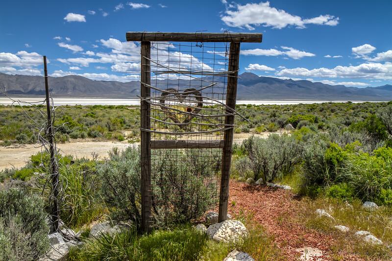 "091 Black Rock Hitching Post Wedding Chapel by DeWayne ""Doobie"" Williams, Guru Road, Nevada"