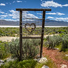 "091 Black Rock Hitching Post Wedding Chapel by DeWayne ""Doobie"" Williams, Guru Road, Nevada"