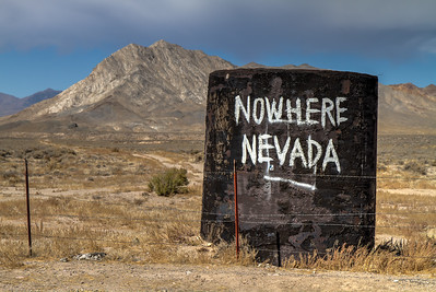 018 Nowhere Nevada in the Great Basin Desert