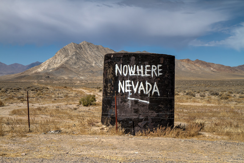 019 Nowhere Nevada in the Great Basin Desert