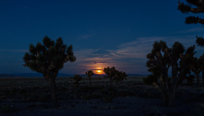 037 Moon rise Tonopah Test Range