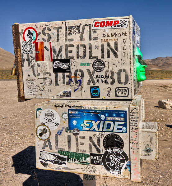 019 Area 51 Mail Box, Rachel, NV