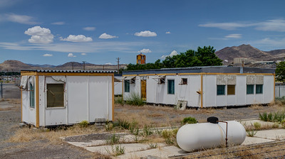 113 Russian weapons inspector's buildings used at the Hercules Aerospace plant in Magna, Utah, for the 1987 Intermediate-Range Nuclear Forces (INF) Treaty - RUSSIAN INSPECTION STATION
