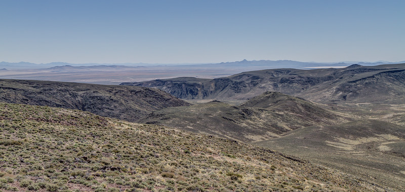 105 Air Force Station Z164, Tonopah, view east