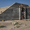 076 Decommissioned bunkers at the Tonopah Army Airfield.