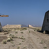 078 Decommissioned bunkers at the Tonopah Army Airfield.