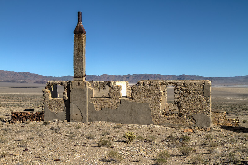 151 Blair, Nevada. Town site of the Pittsburg-Silver Peak Gold Mining Company in 1906.