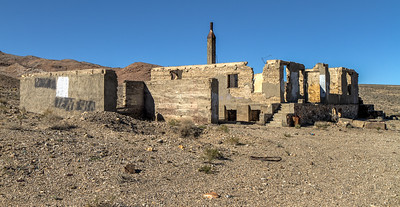 156 Blair, Nevada. Town site of the Pittsburg-Silver Peak Gold Mining Company in 1906.