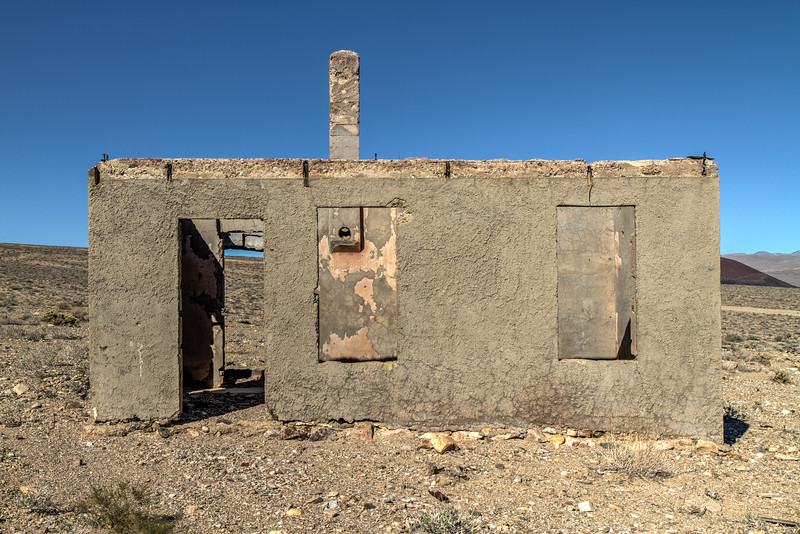 146 Blair, Nevada. Town site of the Pittsburg-Silver Peak Gold Mining Company in 1906.