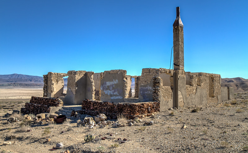 150 Blair, Nevada. Town site of the Pittsburg-Silver Peak Gold Mining Company in 1906.