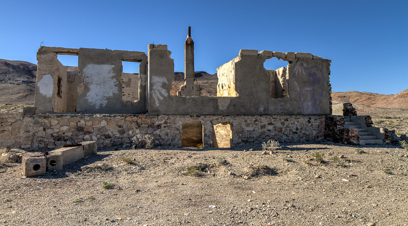 154 Blair, Nevada. Town site of the Pittsburg-Silver Peak Gold Mining Company in 1906.