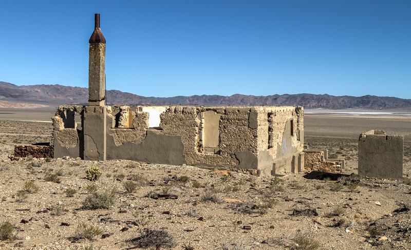 152 Blair, Nevada. Town site of the Pittsburg-Silver Peak Gold Mining Company in 1906.