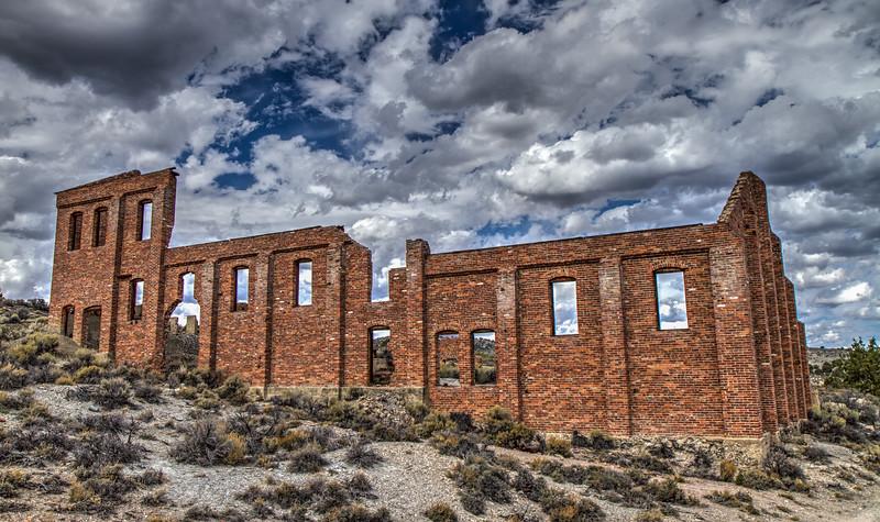 103 Monitor Belmont Mining Co. Mill, Belmont, NV