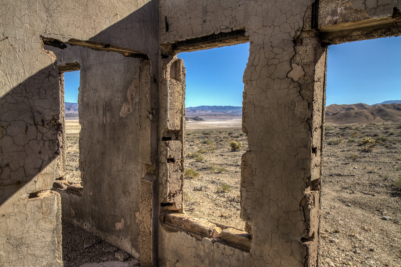 144 Blair, Nevada. Town site of the Pittsburg-Silver Peak Gold Mining Company in 1906.