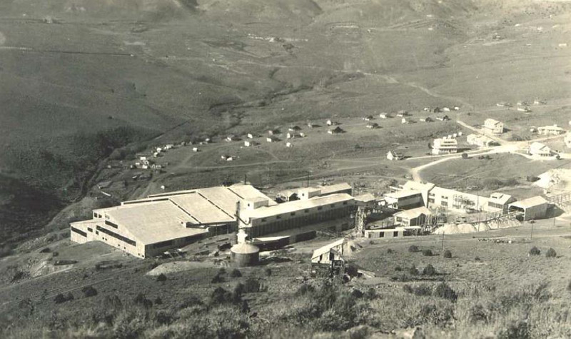 002 Historic photo of the United Comstock Merger Mill. BLM