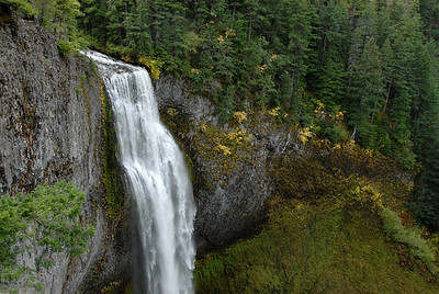 Salt Creek Falls in October.