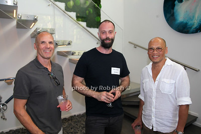 Randall Sobo, Sam Tufnell, Michael Young photo by R.Cole for  Rob Rich/SocietyAllure.com ©2018 robrich101@gmail.com 516-676-3939