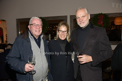 Stuart Goode, Nancy Cooley, Roman Roth photo by Rob Rich/SocietyAllure.com ©2018 robrich101@gmail.com 516-676-3939
