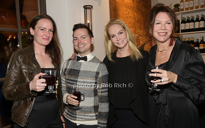 Meghan Cassidy, Quenton Kerns,  Alyra Hoffman, Julie Munroid photo by Rob Rich/SocietyAllure.com ©2018 robrich101@gmail.com 516-676-3939
