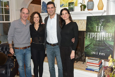 Bruce Teitelbaum, Suri Kasierer, Chris Babu, Michelle Babu photo by Rob Rich/SocietyAllure.com ©2018 robrich101@gmail.com 516-676-3939