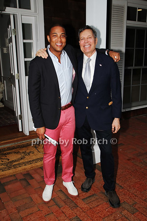 Don Lemon and Matt Rich photo by K.Doran  for Rob Rich/SocietyAllure.com ©2018 robrich101@gmail.com 516-676-3939