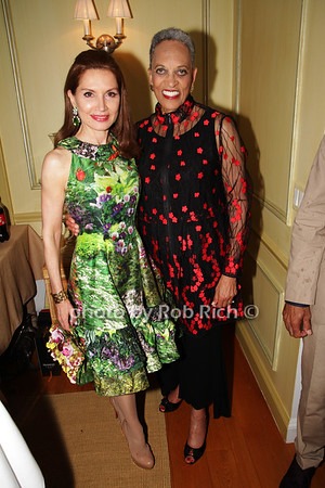 Jean Shafiroff and Johnnetta Betsch Cole photo by K.Doran  for Rob Rich/SocietyAllure.com ©2018 robrich101@gmail.com 516-676-3939
