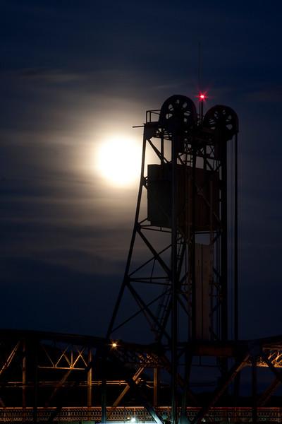 Super Moon 2013 Stillwater Minnesota.