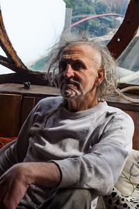 Portrait of Hamish McKenzie. Shoreham-By-Sea, Sussex, UK. April 2016.