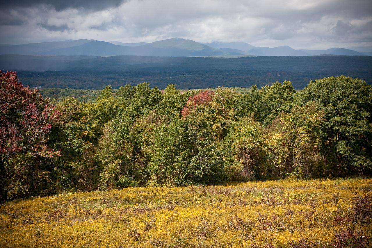 The Catskills in autumn