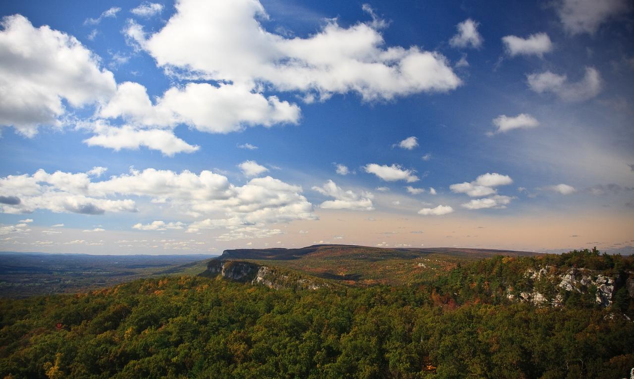 Looking towards Millbrook Ridge from Sky Top in autumn