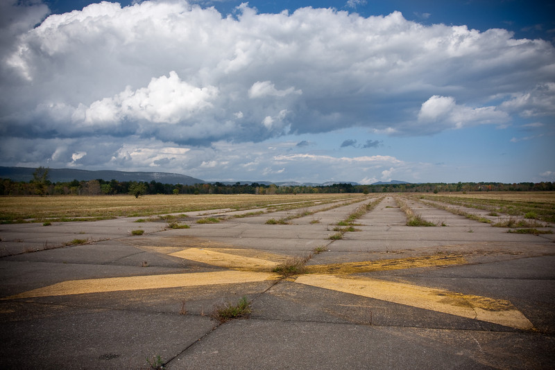 Abandoned runways at the Shawangunk Grasslands