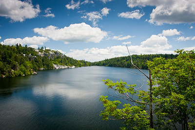 Lake Minnewaska in Summer