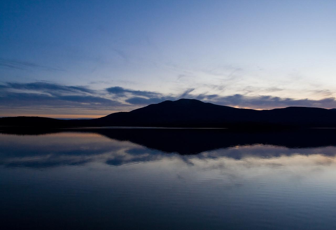 Sunset at the Ashokan Reservoir