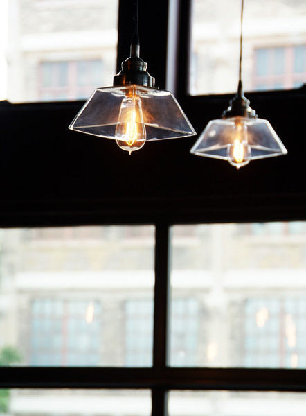 Edison lights in Branded at The Iron Horse Hotel<br /> Photo by: Colleen Swartz