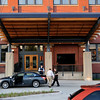 Valet service at The Iron Horse Hotel in Milwaukee, Wisconsin. Photo by: Company B.