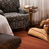 Pet-friendly guest room at The Iron Horse Hotel<br /> Photo by: Kenton Robertson