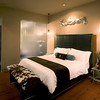 Cream City Studio guest room at The Iron Horse Hotel<br /> Photo by: Mark Heffron