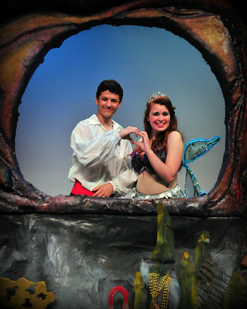 The LITTLE MERMAID/Pics with Ariel and Eric