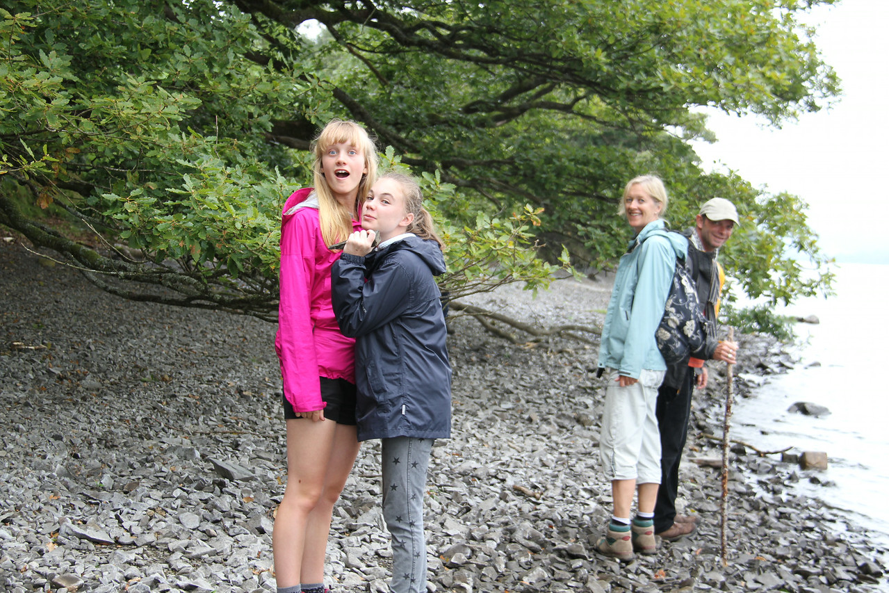 Walking the shore of Coniston Water