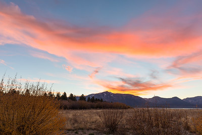 Tallac November Sunset