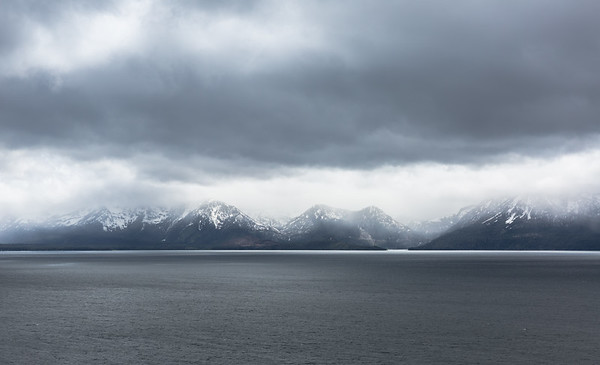 Looking Across the Lake to Emerald Bay and an Approaching Storm