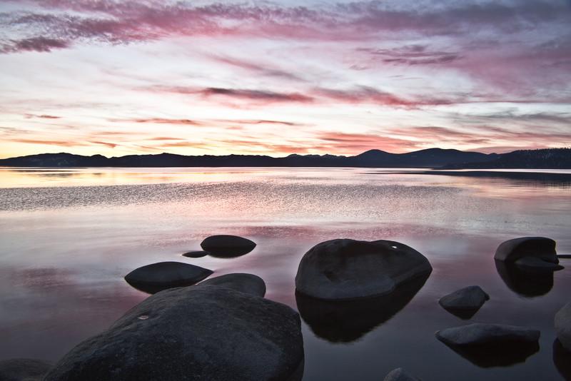 Vibrant East Shore Sunset